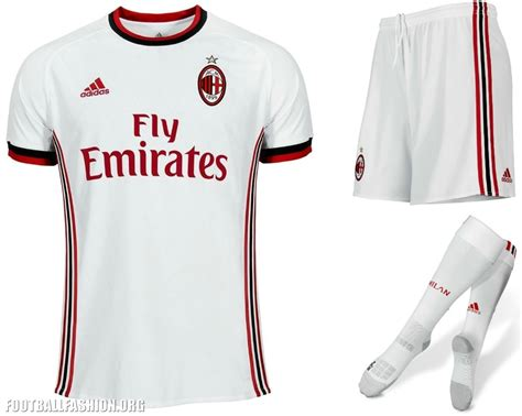AC Milan 2017/18 adidas Away Kit - FOOTBALL FASHION.ORG