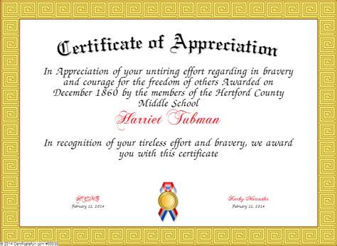 certificate  appreciation wording task list templates