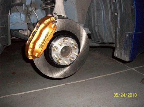 oem brembo install  rays  wheels myzcom