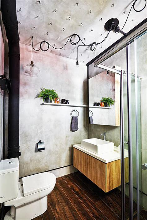 simple  modern hdb flat bathroom designs home