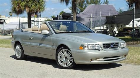 auto manual repair 2004 volvo c70 electronic toll collection find used 2004 volvo c70 turbo convertible ex clean service records new top in pompano