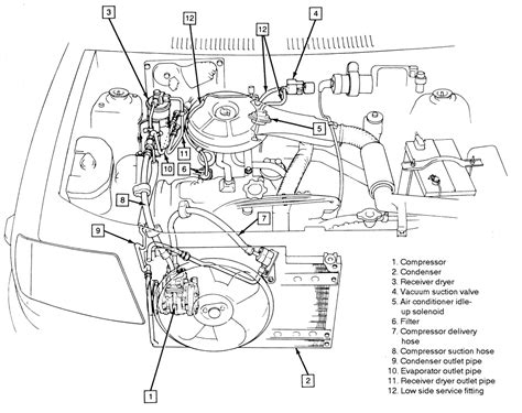 where is the orifice located on a 1993 geo metro 1 0