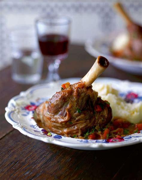 lamb shank recipes delicious magazine