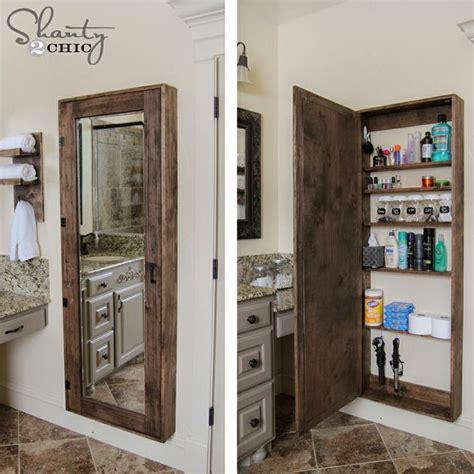 wall mounted medicine cabinet no mirror 13 ideas para organizar baños pequeños que te cambiarán la