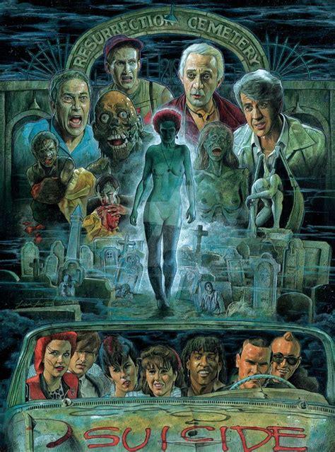 dead return living horror artwork movie posters