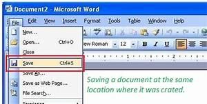 How to Save a Document – InforamtionQ.com