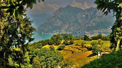 Scenery Italy Nature Hdr Background Monte Resolution