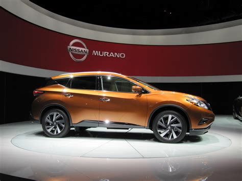 2015 Nissan Murano Video New York Auto Show