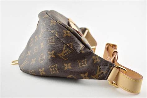 louis vuitton belt bumbag monogram lv logo fanny brown canvas shoulder bag tradesy