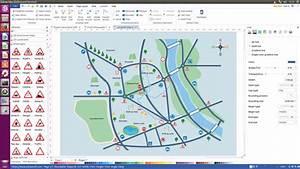 Linux Landkarte Software