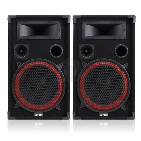 Boat Speakers Dj by Mega Cone Bass 12 Quot 2 Way Speakers Home Karaoke Dj