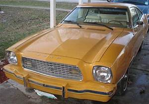 Medium Goldenrod Yellow 1974 Ford Mustang II Hatchback - MustangAttitude.com Photo Detail