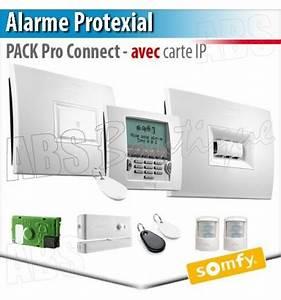 Pack Alarme Somfy : alarme sans fil protexial io et rts pack pro connect ~ Melissatoandfro.com Idées de Décoration