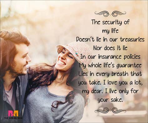 Short Romantic Love Poems for Husband