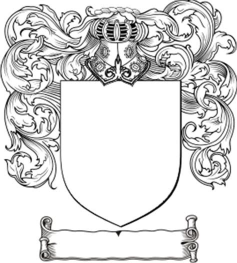 family crest template americkim s home the easiest way to make a family crest