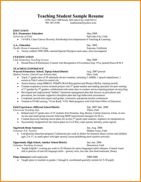 student affairs resume sles resume ideas