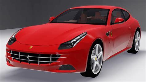 Fresh Prince Creations Sims 3 2018 Ferrari Ff