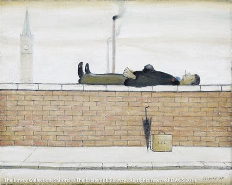 wall hanging ls l s lowry s museum exhibition overseas artist of
