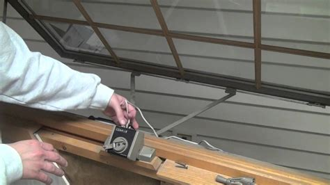 How To Install Andersen Power Operator For Awning Window