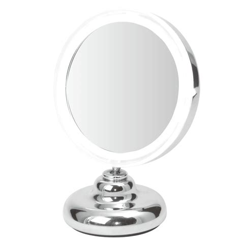 table top mirror with lights clearview 5 led illuminated makeup vanity table top mirror