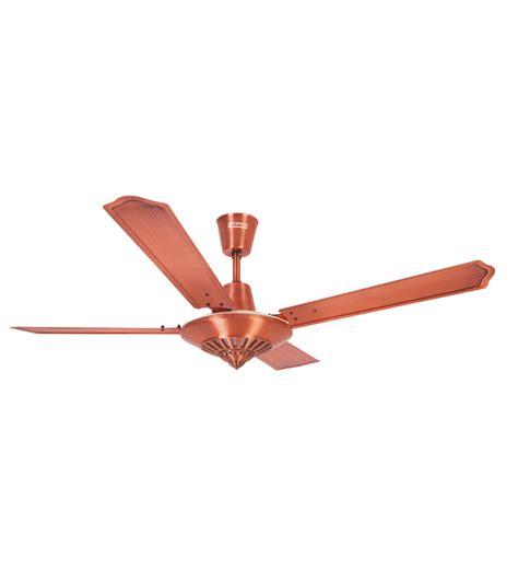luminous inspire ceiling fan brushed copper by luminous