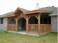 covered porch ideas Covered Patio Ideas