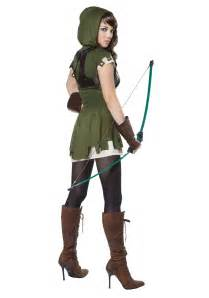 Outdoor Halloween Decorations Uk by Women S Miss Robin Hood Costume