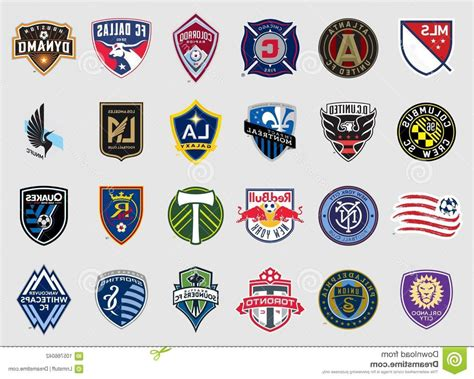 Major League Soccer Teams Logos Vector High Quality ...