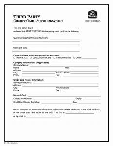 Download Best Western Credit Card Authorization Form