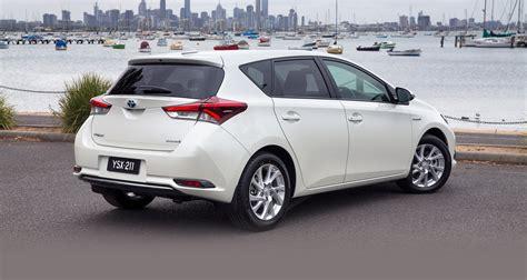 toyota car 2016 2016 toyota corolla hybrid hatch confirmed for australia