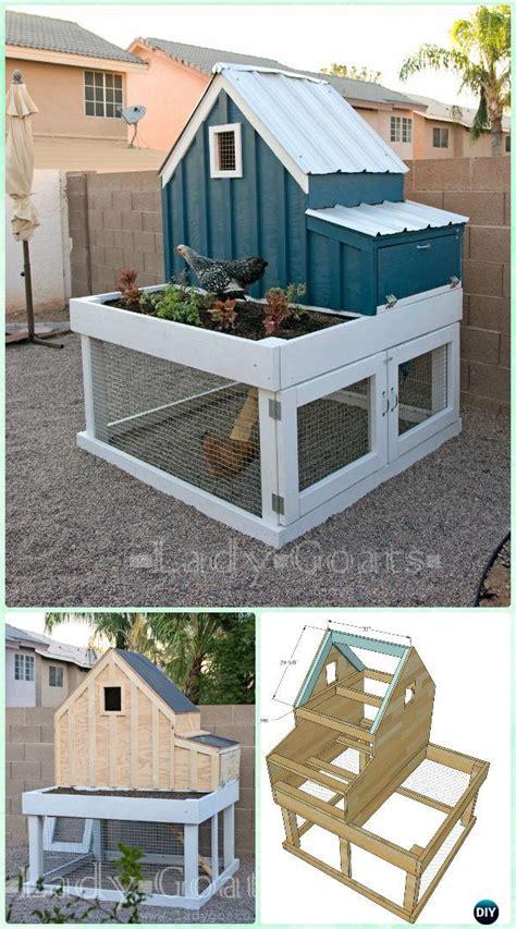 Diy Backyard Chicken Coop by Diy Wood Chicken Coop Free Plans