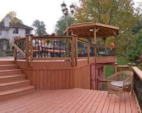 1000 ideas about tiered deck on decks deck pictures and ground pools
