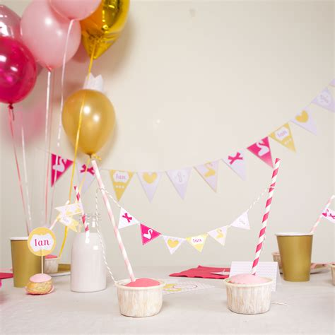 anniversaire bebe   kit deco par theme sweet party day
