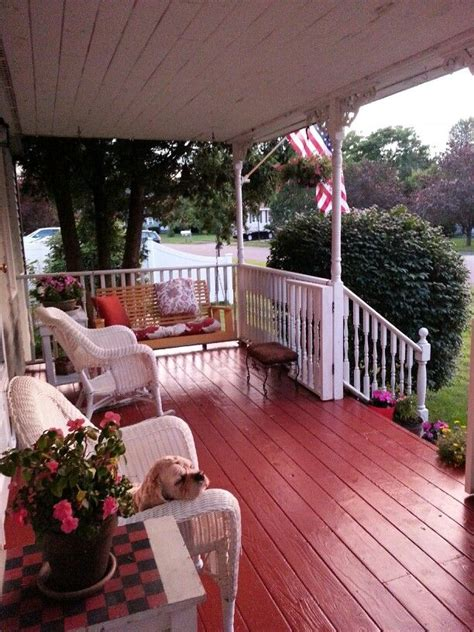 painted front porch floor decorating ideas painted