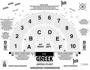Greek Theater Los Angeles Seating Chart Tickets And Box Office Greek Theatre