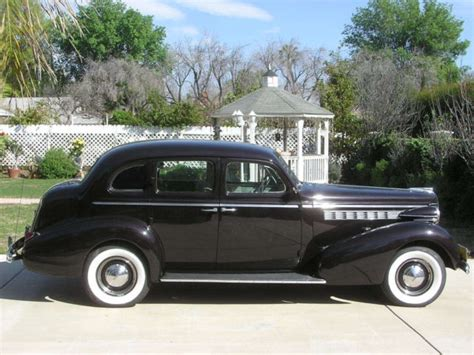 1938 Buick Century by 1938 Buick Century Series 60 Touring Sedan Restored Calif