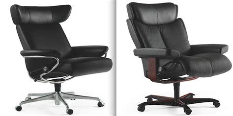fauteuil de bureau stressless stressless lance une gamme de fauteuils de bureau