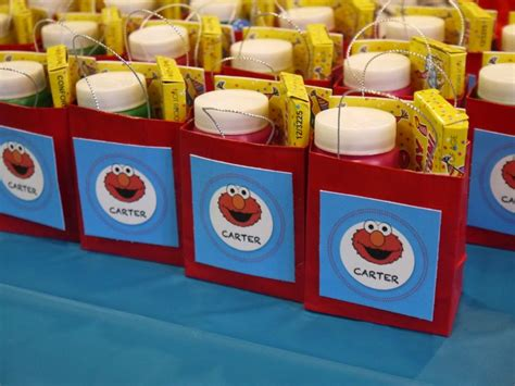 Gift Elmo Birthday Party Ideas