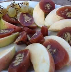 Almonds Dipped in Grape Juice