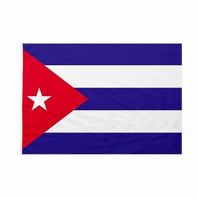 Bandiera Cuba Pennone 50x75 Immagini Bastone Italianabandiere