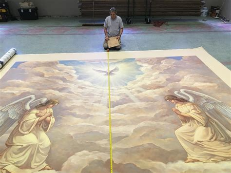 chapel mural st joseph retreat conference center tipton