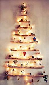 Weihnachtsbaum Aus Holz Beleuchtet : alternativer weihnachtsbaum aus holz deko weihnachten unechter weihnachtsbaum und basteln ~ Watch28wear.com Haus und Dekorationen