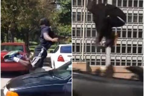 guy attempts  recreate kobe bryants aston martin jump