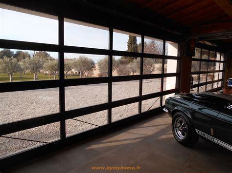 installation de  portes sectionnelles vitrees  gordes