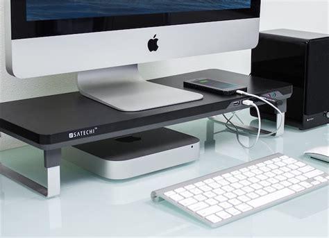 bureau pour imac satechi une gamme de supports pour imac et écrans