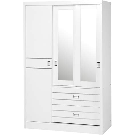 Single White Wardrobe by 15 Best Collection Of Single White Wardrobes With Drawers