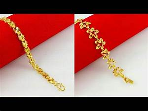 Gold Chain Bracelets for Women Designs - YouTube