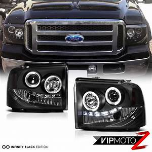 Halo Headlights Front Lamp Led Bulbs Tail Lights 2005 2006