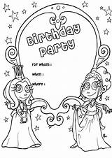 Birthday Coloring Happy Pages Printable Forkids Happily Memories Forever Gifts Follow Friends Play sketch template