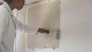 peindre sur un papier peint 7 appliquer un enduit With peindre sur un papier peint
